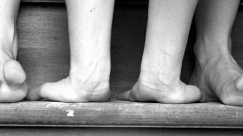 Des pieds et des mains